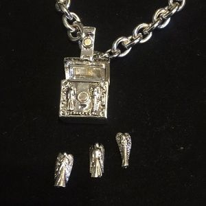Trinity Angels made in india Jewelry - SALES Stainless steels Trinity Angels Necklace